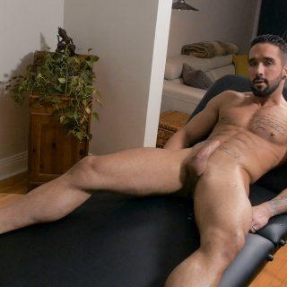Massaging Zack Lemec