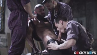 Bruce LaBruce's Purple Army Faction (Flea Pit Anthology Part 3) - Francois Sagat, Arad Winwin, Doto Foland & Levi Karter