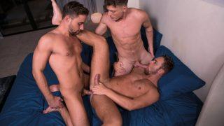 Hungry For Moore, Scene 4 - Brent Corrigan, Logan Moore & Samuel Stone