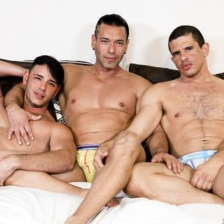 Throuple - Alexander Garrett, Rego Bello & Adrian Cortez