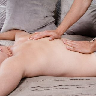 Roomie Rub Down - Charlie Pattinson & Dante Cole