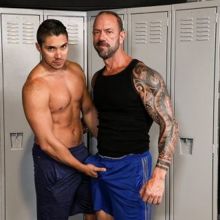 Big Tatts & Big Cock - Vic Rocco & Adrian Suarez