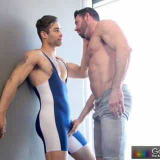 Lubed Jock - Billy Santoro & Lucan Leon