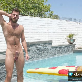 Summer Pool Play - Luke Kennedy & Mars Rousseau