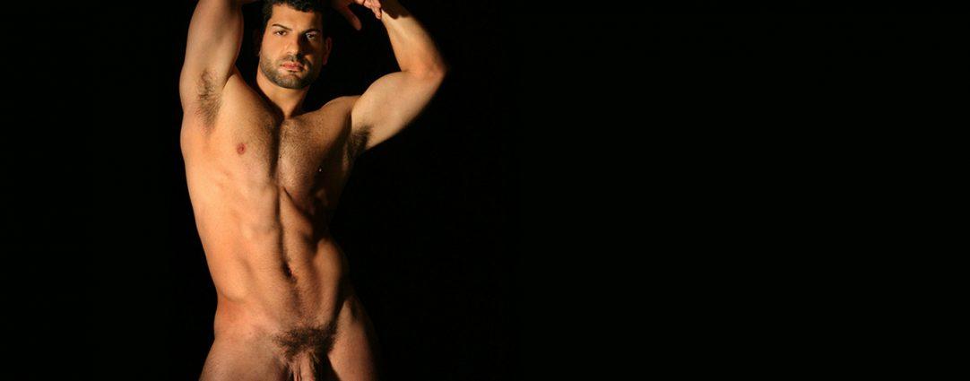 Full-Frontal Masculine Hunk