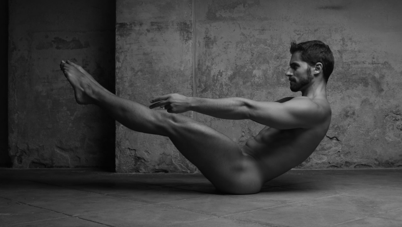 Black and White Artistic Nude