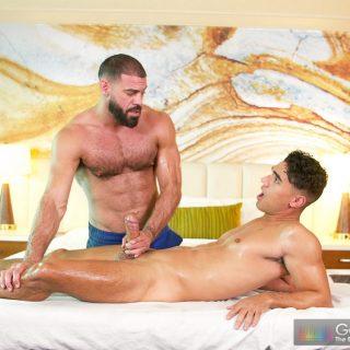 Deep Dick Massage - Ricky Larkin & Max Marciano
