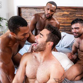 Lucas Leon, Sean Xavier, Andre Donovan & Wagner Vittoria