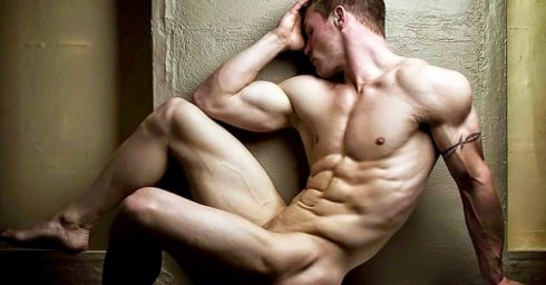 Ripped Hunk Artistic Nude
