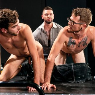 Fisting Theater, Scene 1 - Teddy Bryce, Noah Scott & Alex Killian