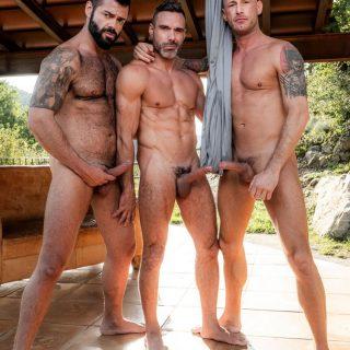Logan Rogue, Victor D'Angelo & Manuel Skye