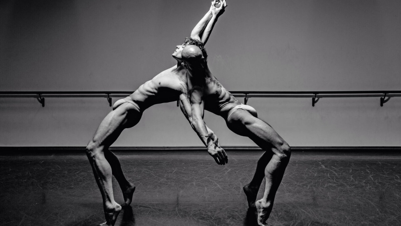 Black and White Two Ripped Dancers