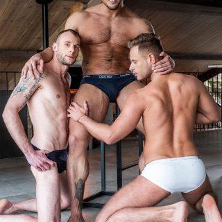 Brock Magnus, Guillaume Wayne & Yuri Orlov