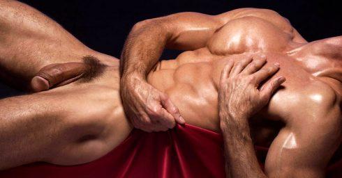 Full-Frontal Naked Bodybuilder