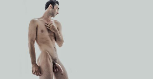 Full-Frontal Fit Guy with a Long Dick