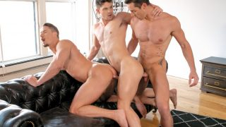 Love and Lust in Montreal, Scene 5 - Skyy Knox, Devin Franco & Steven Lee