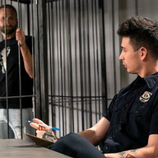 Fist Fuck Police Department, Scene 1 - Luka Sage & Josh Mikael