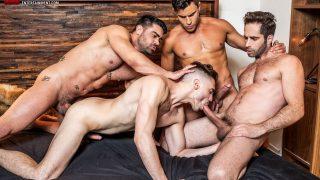 Asher Hawk, Michael Lucas, Rafael Carreras & Wagner Vittoria